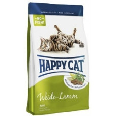 Happy cat - Суприм для кошек с ягненком (Adult mit Weide-Lamm)