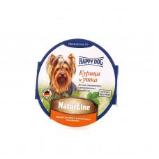 Happy dog - Нежный мясной паштет для собак - утка и курица