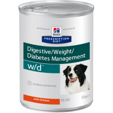 Hill's w/d - Консервы для собак лечение сахарного диабета, запоров, колитов (Digestive / Weight / Diabetes Management w/d)