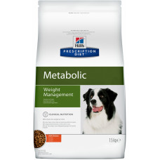 Hill's - Корм для собак - улучшение метаболизма (Коррекция веса)(Metabolic)