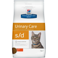Hill's - Prescription Diet S/d для кошек - Лечение мочекамен. болезни (МКБ)