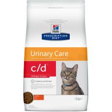 Hill's - Prescription Diet C/d для кошек - профилакика МКБ при стрессе (Urinary Stress)