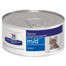 Hill's - Консервы M/D для кошек при сахарном диабете m/d Diabetes/Weight Managemen 4281F