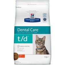 Hill's - T/D Для кошек поддержание здоровья ротовой полости t/d Dental Care 8688U