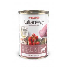 Italian Way - Консервы для собак с чувствительным пищеварением с уткой,томатами и картофелем