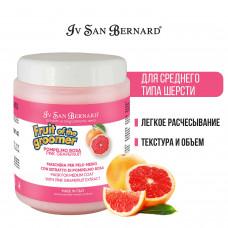 ISB - Восстанавливающая маска для шерсти средней длины с витаминами, Fruit of the Grommer Pink Grapefruit, 1 л
