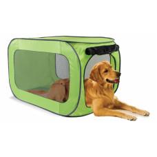 Kitty City - Переносной домик для собак крупных пород 55,9х55,9х91,4 см, полиэстер (Portable dog kennel large)