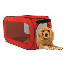 Kitty City - Переносной домик для собак средних пород 50,8x50,8x81,3 см, полиэстер (Portable dog kennel medium)