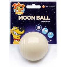 "Kitty City - Светящийся в темноте мяч для развлечений и угощений ""Луна"", 6,5 см"
