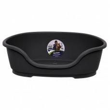 Moderna - Лежак domus пластиковый 95см, 110х74х30,  черный