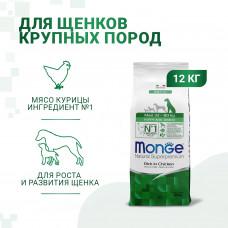 Monge - Корм для щенков крупных пород (Dog Maxi)