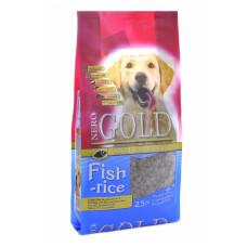 NERO GOLD - Корм для взрослых собак, рыбный коктейль, рис и овощи (Fish&Rice 24/13)