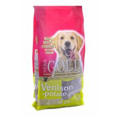 NERO GOLD - Корм для взрослых собак, c олениной и сладким картофелем (Adult Venison&Potato 20/10)