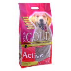 NERO GOLD - Корм для активных собак, курица и рис (Adult Active)