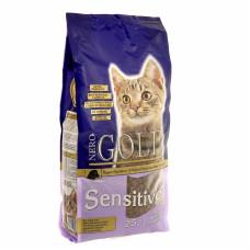 NERO GOLD - Корм для кошек с чувствительным пищеварением,  ягненок (Adult Sensitive)