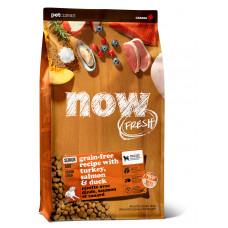 NOW FRESH - new Контроль веса - беззерновой корм для Собак с Индейкой, Уткой и овощами