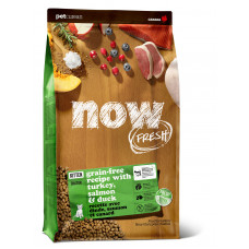 NOW FRESH - new Беззерновой для Котят с Индейкой, Уткой и овощами