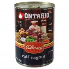 """Ontario - Консервы для собак """"Рагу с теленком и уткой"""""""