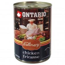 """Ontario - Консервы для собак """"Куриное фрикассе"""""""