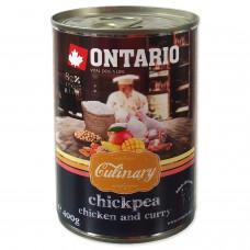 """Ontario - Консервы для собак """"Карри с курицей и нутом"""""""