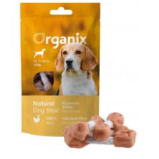 Organix - Лакомство для собак «Куриные гантельки» (100% мясо) (Chicken fillet/ dumbbell) 100 гр