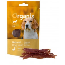 Organix -  Лакомство для собак «Утиное филе» (100% мясо) (Duck fillet/ whole) 100 гр