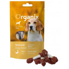 Organix - Лакомство для собак «Утиные гантельки» (100% мясо) (Duck fillet/ dumbbell),