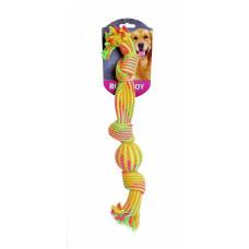 """Papillon - Игрушка для собак """"Мячик в канате"""", 47,5 см"""