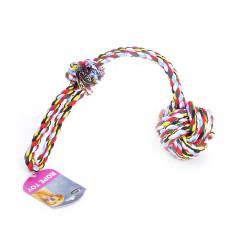 """Papillon - Игрушка для собак """"Веревка с узлом"""", хлопок, 50*10,5см"""