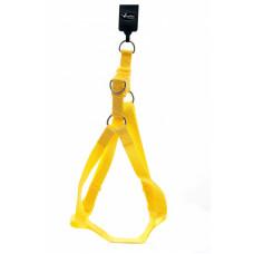 Papillon - Шлейка для собак нейлоновая, 1,5x35x60см, желтый