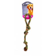 """Papillon - Игрушка для собак """"Плетеный камуфляжный буксир"""", 34 см"""