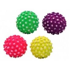 """Papillon - Игрушка для собак """"Неоновый мяч-ежик"""" в ассортименте, 7,2 см"""