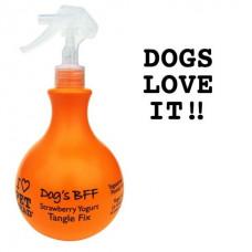 Pet Head - Спрей-уход для собак клубнично-йогуртовый от колтунов и для блеска шерсти, без сульфатов и парабенов