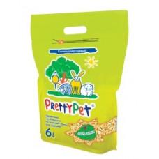 Pretty Cat - Наполнитель для грызунов осиновые гранулы (PrettyPet) 6 л