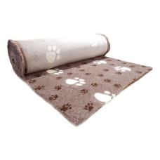 ProFleece коврик меховой Большая Лапа 1х1,6 м лиловый/шоколадный