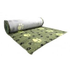 ProFleece коврик меховой Большая Лапа 1х1,6 м лайм/черный
