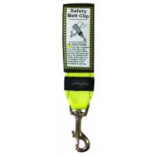 Rogz - Ремень для пристегивания в автомобиле, желтый, SAFETY BELT CLIP