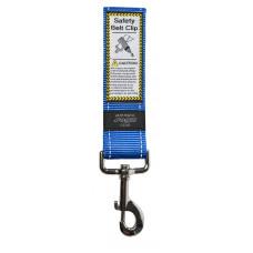 Rogz - Ремень для пристегивания в автомобиле, синий, SAFETY BELT CLIP