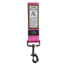 Rogz - Ремень для пристегивания в автомобиле, розовый, SAFETY BELT CLIP