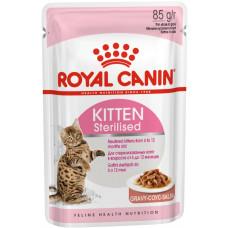 Royal Canin - Кусочки в соусе для котят с момента операции до 12 мес.