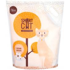 """Smart Cat - Силикагелевый наполнитель с ароматом """"белый мускус"""", 7,6л"""