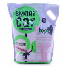 Smart Cat - Силикагелевый наполнитель для чувствительных кошек (без аромата), 7,6л