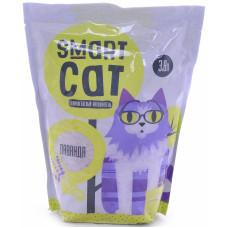 Smart Cat - Силикагелевый наполнитель с ароматом лаванды, 3,8л