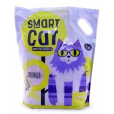 Smart Cat - Силикагелевый наполнитель с ароматом лаванды, 7,6л