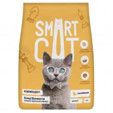 Smart Cat - Корм для котят с цыпленком
