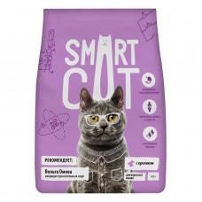 Smart Cat - Корм для взрослых кошек с кроликом