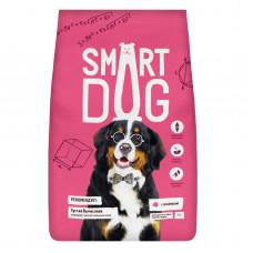 Smart Dog - Корм для взрослых собак крупных пород, с ягненком