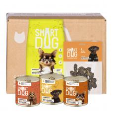 Smart Dog - Smart Box Рацион из птицы для умных собак