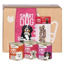 Smart Dog - Smart Box Мясной рацион для умных собак крупных пород