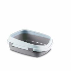 Stefanplast - Туалет Queen с рамкой, пудровый, 55*71*24,5см (TOILETTE QUEEN CIPRIA/BIANCO) 96859